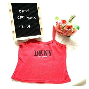 DKNY crop top